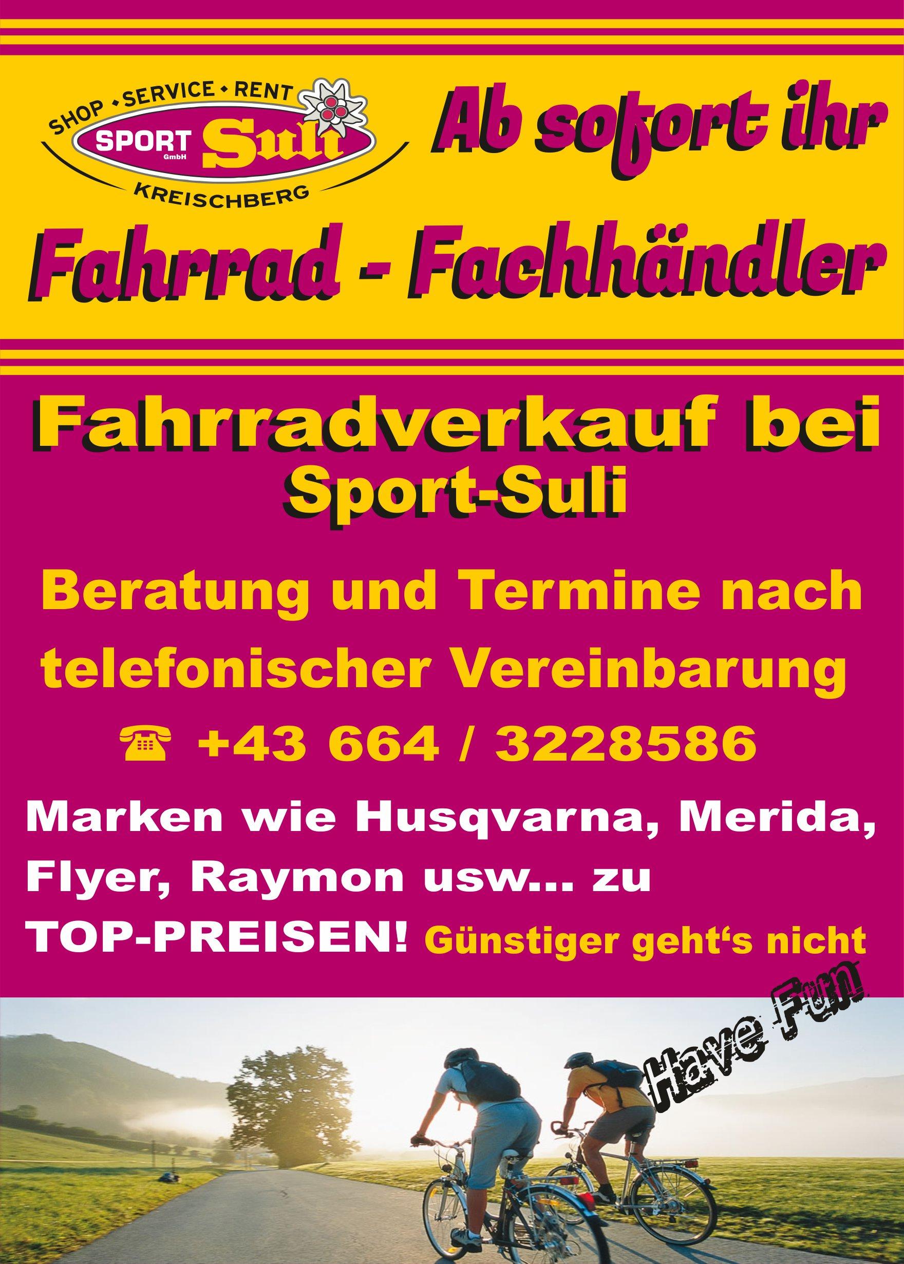 Plakat_Fahrradverleih_2020 Verkauf A5
